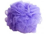 Sponge Mesh Loofah  Assorted Colours Mesh Loofah Available in Pink Purple White and Yellow assorted with a hanging rope attached. Please Click the image for more information.