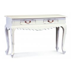 Maison 2 Drawer Carved Sofa Table - White This hand made Maison 2 Drawer Carved Sofa Table is both functional and beautiful Made by professional craftsmen it has 2 drawers with brass handles and will make the perfect addition to your homeAv. Please Click the image for more information.