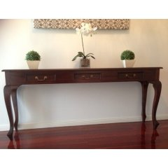 Maison 3 Drawer Sofa Table - Mahogany This stylish Maison 3 Drawer Sofa Table is both functional and beautiful Made by professional craftsmen it had 3 Drawers with brass handles and looks amazingAt . Please Click the image for more information.