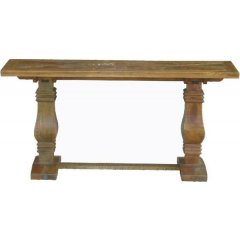 """""""Tuscany"""" Solid Hardwood Timber Hall Table Console  160cm This beautiful Solid Hardwood Timber Hall Table Console will add the perfect touch to your home It is extremely substantial and superbly made . Please Click the image for more information."""
