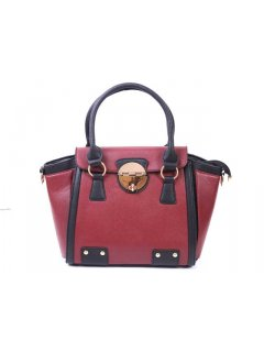 H0484 FASHION HANDBAG  AVAILABLE IN ORANGE BURGUNDY OR GREEN THIS IS A GREAT ACCESSORIES TO BRIGHTEN UP A WINTER OUTFIT Please Click the image for more information.