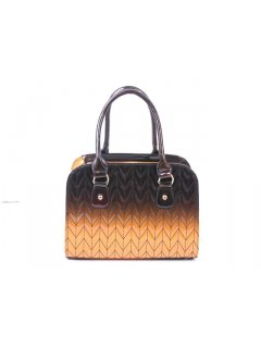 H0475B FASHION GISELLE HANDBAG  WITH QUILTED TWO TONE PRINTWHAT A GREAT BAGAVAILABLE IN TANBROWN BLUEBLACK BLACKGREY OR BLACKRED Please Click the image for more information.