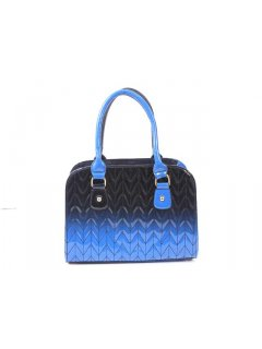 H0475C FASHION GISELLE HANDBAG  WITH QUILTED TWO TONE PRINTWHAT A GREAT BAGAVAILABLE IN BLUEBLACK BLACKGREY REDBLACK OR BROWNTAN Please Click the image for more information.