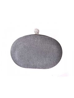 H0481A GIGI EVENING BAGS  SHIMMERY OYSTER CLUTCH AVAILABLE IN GREY BRONZE OR BLACK Please Click the image for more information.