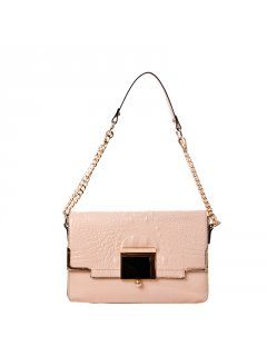 H0580D LEATHER HANDBAGS IN PASTEL COLOURSAVAILABLE IN BLUE ORANGE PINK BEIGE OR YELLOW Please Click the image for more information.