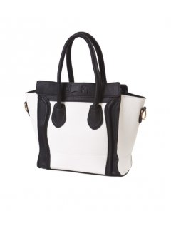 H0570 CELINE SHAPED HANDBAG AVAILABLE IN BLACK  WHITE PINK  BLACK OR BLUE  BLACK Please Click the image for more information.