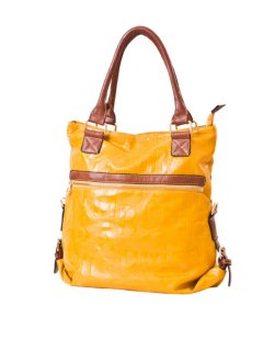 H0571A FASHION HANDBAG AVAILABLE IN BLACK MUSTARD OR REDTHIS BAG IS GREAT IT CAN BE USED AS A LARGE HANDBAG OR ZIPPED APART AND CONVERTED TO TWO SEPERATE BAGS Please Click the image for more information.