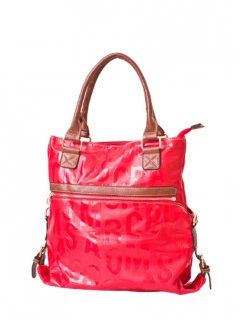 H0571B FASHION HANDBAG AVAILABLE IN BLACK RED OR MUSTARDTHIS BAG IS GREAT IT CAN BE USED AS A LARGE HANDBAG OR ZIPPED APART TO CONVERT TO SEPERATE BAGS Please Click the image for more information.