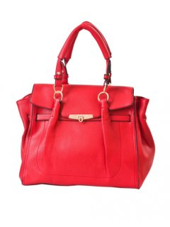 H0573C FASHION HANDBAG AVAILABLE IN BLACK RED BLUE OR TAUPE Please Click the image for more information.