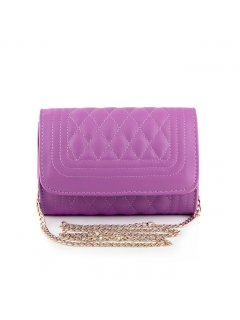 H0560B BARREL QUILTED EVENING BAGAVAILABLE IN PINK BLUE BLACK OR WHITE Please Click the image for more information.