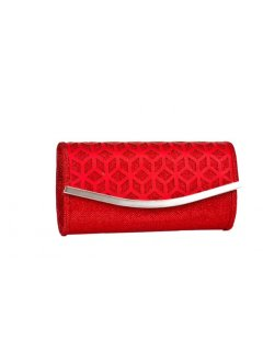 H0584C CUT OUT SHIMMER EVENING BAGAVAILABLE IN RED BLACK SILVER OR GOLD Please Click the image for more information.