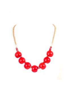 10679 NECKLACE  EARRING SET AVAILABLE IN RED GREY BLUE OR ORANGE Please Click the image for more information.