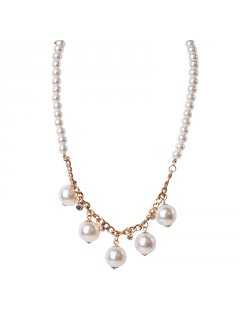 10681 PEARL NECKLACE AVAILABLE IN BLACK OR CREAMCOMES WITH MATCHING EARRINGS Please Click the image for more information.