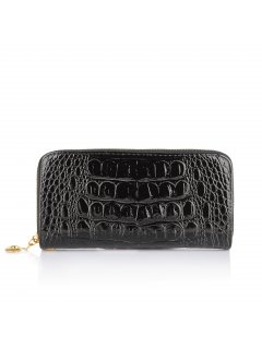 H0619 BLACK CROC WALLET Please Click the image for more information.