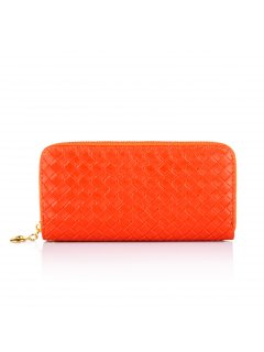 H0617D ORANGE WOVEN WALLET Please Click the image for more information.