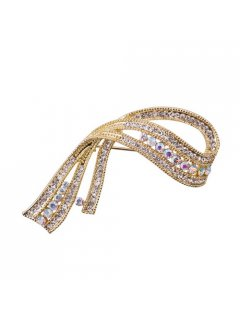 BR0133 BOLD DIAMONTE SHEAF BROOCH Please Click the image for more information.
